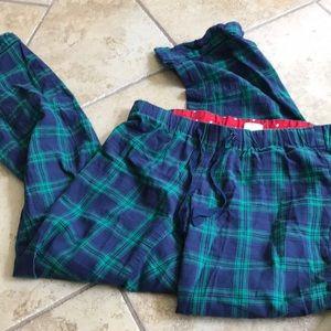 J Crew pajama pants